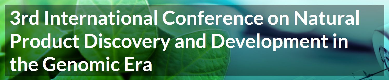 3rd International Conference on Natural Products Discovery and Development in the Genomic Era